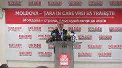 Briefing de presă susținut de Igor Dodon după închiderea secțiilor de votare