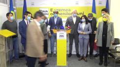 Conferință de presă susținută de Președinta Partidului Acțiune și Solidaritate, Maia Sandu