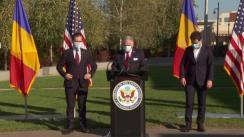 Declarații de presă susținute de Prim-ministrul României, Ludovic Orban, după întrevederea cu ambasadorul Statelor Unite ale Americii în România, Adrian Zuckerman