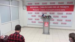 Briefing de presă susținut de Igor Dodon