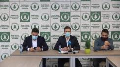 Conferință de presă sustinuță de către candidații PER, Șerban Nicolae, Cătălin Ivan și Bogdan Stanoevici