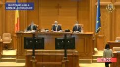 Ședința în plen a Camerei Deputaților României din 3 noiembrie 2020
