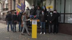 Briefing susținut de Președinta Partidului Acțiune și Solidaritate, Maia Sandu