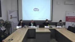 """Conferința de presă organizată de Centrul Analitic Independent """"Expert-Grup"""" cu tema """"Câștigăm sau pierdem? Problemele majore de mediu generate de exploatarea resurselor minerale în Republica Moldova"""""""