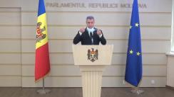 Declarație de presă susținută de deputatul Octavian Țîcu privind alegerile prezidențiale
