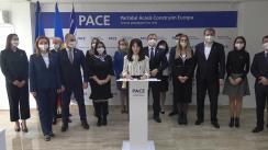Gheorghe Cavcaliuc, Președintele Partidului PACE, anunță pe cine din cei 2 candidați susține în turul II la funcția de Președinte al Republicii Moldova