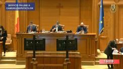 Ședința în plen a Camerei Deputaților României din 9 noiembrie 2020