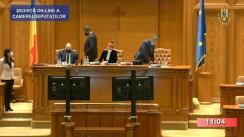 Ședința în plen a Camerei Deputaților României din 10 noiembrie 2020