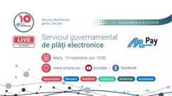 Prezentarea Serviciului guvernamental de plăți electronice MPay, eveniment organizat de Agenția de Guvernare Electronică