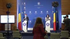 Conferință de presă susținută de reprezentantul cu însărcinări speciale pentru procese electorale din cadrul MAE, Iulian Ivan, pe tema organizării alegerilor parlamentare în străinătate