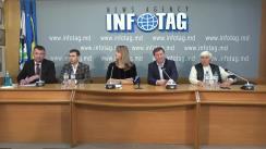 """Conferință de presă cu tema """"Producătorii agricoli despre starea de lucruri în agricultură și situația politică actuală din Republica Moldova"""""""