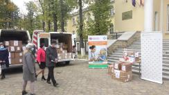 Evenimentul de donație a lotului de echipamente de protecție pentru personalul medical și beneficiarii instituțiilor rezidențiale, oferit de către Republica Cehă, în contextul combaterii pandemiei COVID-19