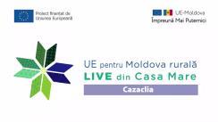 """Evenimentul online """"LIVE din Casa Mare în localitatea Cazaclia, din raionul Ceadîr-Lunga: Dezvoltarea economiei locale prin intermediul antreprenoriatului feminin. Grupul de Acțiune Locală """"Bugeac Kilim"""""""