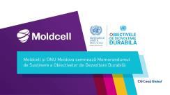Moldcell și ONU Moldova semnează Memorandumul de Susținere a Obiectivelor de Dezvoltare Durabilă. UNFPA și Fundația Moldcell semnează Acordul de Cooperare pentru dezvoltarea dialogului intergenerațional