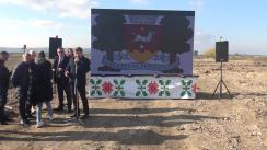 Conferință de presă susținută de Primarul municipiului Orhei, Pavel Verejanu, liderul Partidului ȘOR, Ilan Șor și echipa formațiunii, cu ocazia prezentării proiectului și detaliile construcției de la zero a unui cartier locativ în municipiul Orhei