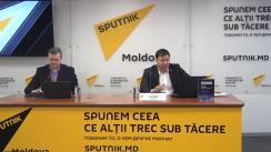 Conferință de presă susținută de Bogdan Țîrdea cu tema Finanțarea Maiei Sandu de către ONG-uri