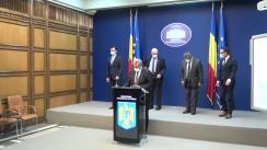 Declarație de presă susținută de ministrul afacerilor interne, Ion Marcel Vela și secretarul de stat pentru ordine și siguranță publică, chestor șef de poliție Bogdan Despescu