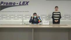 Press conference of Promo-LEX Association dedicated to the presentation of the Report no. 7 on the monitoring of the November 1 (15 November), 2020 Presidential Elections
