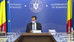 Ședința Guvernului României din 12 noiembrie 2020