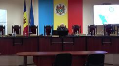 Prezentarea de către Comisia Electorală Centrală a rezultatelor preliminare oficiale privind desfășurarea alegerilor prezidențiale