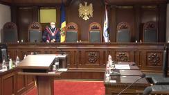Hotărârea Curții Constituționale la sesizarea cu privire la declararea străinilor persoane indezirabile pe motive de securitate națională