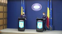 Declarație de presă susținută de purtătorul de cuvânt al MAI, comisar-șef de poliție Monica Dajbog
