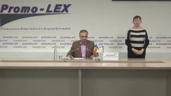Briefing de presă al Asociației Promo-LEX cu privire la dezbaterea electorală de la Postul Public de Televiziune Moldova 1 din data de 12.11.2020