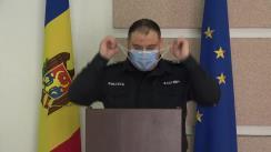 Alegeri Prezidențiale 2020: Briefingul Inspectoratului General al Poliției - ora 11.30