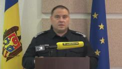 Alegeri Prezidențiale 2020: Briefingul Inspectoratului General al Poliției - ora 15.30