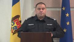 Alegeri Prezidențiale 2020: Briefingul Inspectoratului General al Poliției - ora 22.30