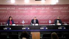 """Conferința de presă organizată de Rețeaua Europeană a Organizațiilor de Monitorizare a Alegerilor (ENEMO) cu tema """"ENEMO: Declarația preliminară nr. II"""""""