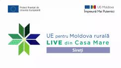 """Evenimentul online """"LIVE din Casa Mare în cadrul Grupului de Acțiune Locală """"Bazinul Lacului Ghidighici"""". Discutăm despre eficiența energetică"""""""