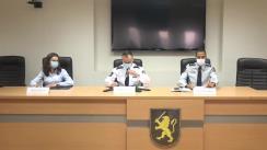 Conferință de presă organizată de Inspectoratul General al Poliției dedicată subiectului siguranței copiilor în mediul online în perioada pandemiei