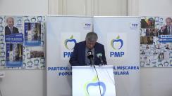 Conferință de presă susținută de candidatul PMP Diaspora la Senatul României, Cătălin Avramescu