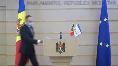 Declarațiile lui Andrian Candu în timpul ședinței Parlamentului Republicii Moldova din 19 noiembrie 2020