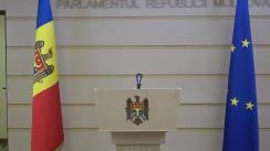 Declarațiile lui Octavian Țîcu în timpul ședinței Parlamentului Republicii Moldova din 19 noiembrie 2020