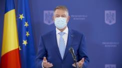 Declarația de presă susținută de Președintele României, Klaus Iohannis, cu ocazia Zilei Internaționale a Drepturilor Copilului