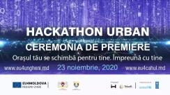 Ceremonia de premiere pentru câștigătorii proiectelor Hackathon Urban Cahul și Ungheni