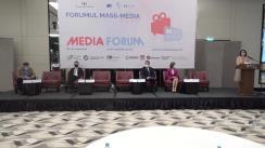 """Forumul Mass-Media 2020. Sesiunea de deschidere """"Pandemia, Infodemia și Media"""""""