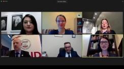 """Forumul Mass-Media 2020. Dezbaterea """"Libertatea presei în impas: gestionarea restricțiilor legislative și de politici pe timp de pandemie"""""""