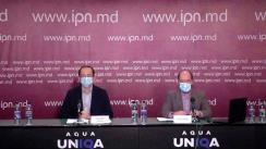 """Conferința de presă organizată de Asociația Promo-LEX cu tema """"Lansarea studiului privind cadrul legal și realizarea libertății de întrunire online în Republica Moldova"""""""