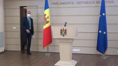 Briefing de presă susținut de Președintele PDM, Pavel Filip