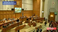 Ședința în plen a Camerei Deputaților României din 24 noiembrie 2020