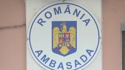 Conferință de presă organizată de Ambasada României în Republica Moldova privind organizarea și desfășurarea alegerilor pentru Parlamentul României din 5-6 decembrie a.c.