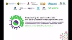International Adolescent Health on-line Conference 2020