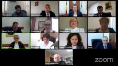 Ședința Curții de Conturi de examinare a raportului auditului conformității organizării, realizării și supravegherii Parteneriatelor publice-private aferente construcției de locuințe și a obiectivelor de menire social-culturală