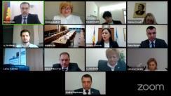 Ședința Curții de Conturi de examinare a raportului auditului conformității achizițiilor publice la Ministerul Sănătății, Muncii și Protecției Sociale