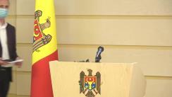 """Briefing de presă susținut de deputatul Fracțiunii ACUM PLATFORMA DA, Liviu Vovc, cu tema """"Susținerea patentarilor - O prioritate pentru Platforma DA"""""""