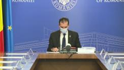 Ședința Guvernului României din 27 noiembrie 2020