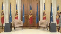 Conferință de presă susținută de Președintele ales al Republicii Moldova, Maia Sandu